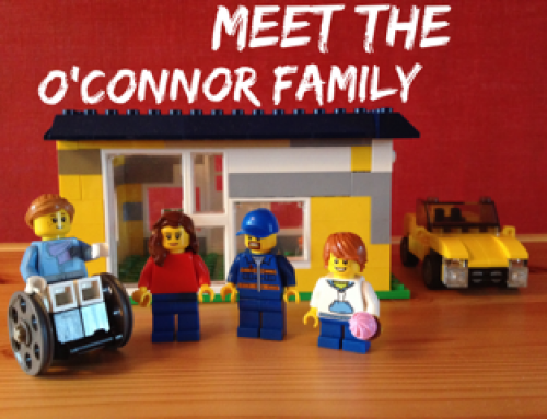 Our Story Told Through Lego!